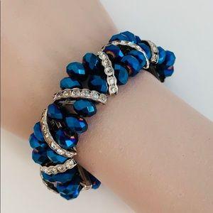 Jewelry - Sapphire & diamond bracelet